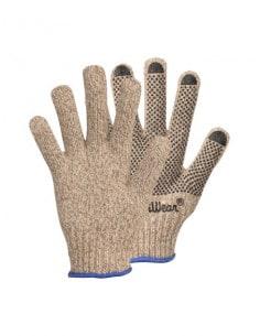 1 Gants en laine avec grip picots
