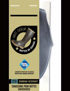 1 Chaussons thermiques pour bottes avec membrane respirante