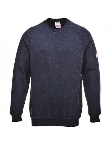 1 Sweat-Shirt ANTI-FEU, manches longues, retardateur de flamme, antistatique