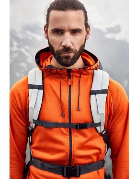 1 Veste Trekking à capuche Hiver Homme