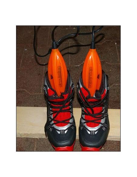 2 Chauffe-chaussure de voyage charge sur secteur 230V