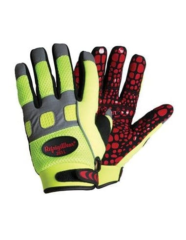 1 Gants Ultra Grip Haute Visibilité bi-matières Refrigiwear