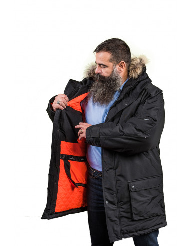 1 Parka Sibérienne Froid Extreme Homme