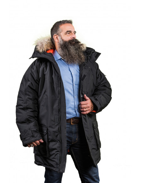 2 Parka Sibérienne Froid Extreme Homme