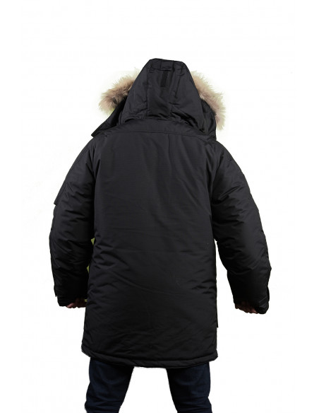 3 Parka Sibérienne Froid Extreme Homme