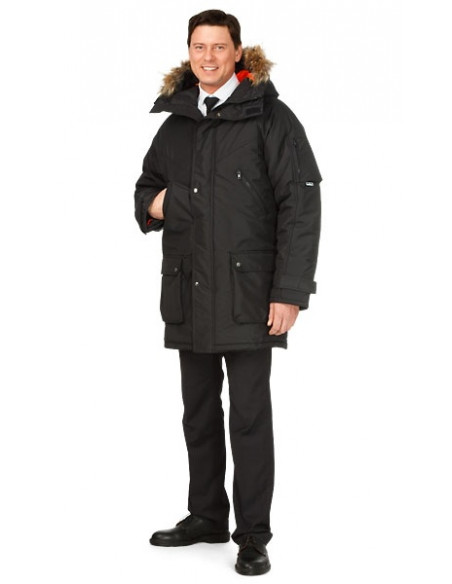 4 Parka Sibérienne Froid Extreme Homme