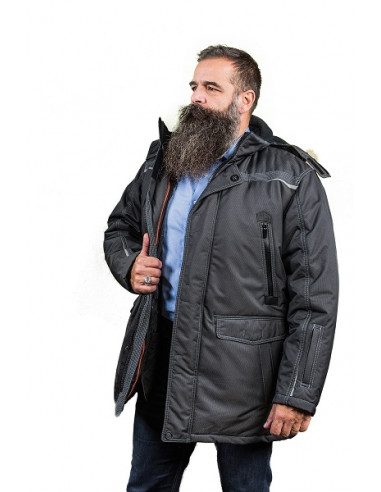 1 Parka double isolation Froid Extrême Homme