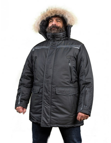 2 Parka double isolation Froid Extrême Homme