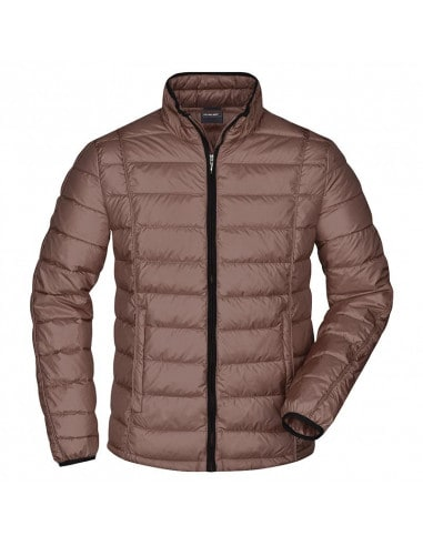 Down Quilted Jacket for Men James &...