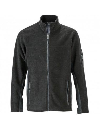 Men's Durable Workwear Fleece Jacket