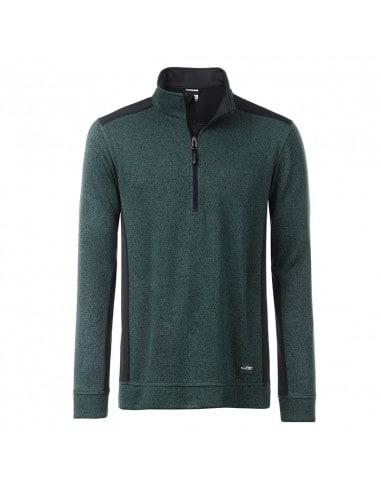 Knitted Semi-zip Workwear Fleece
