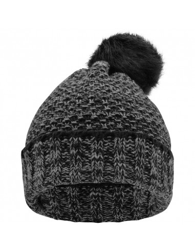 Winter beanie with fleece lining and...