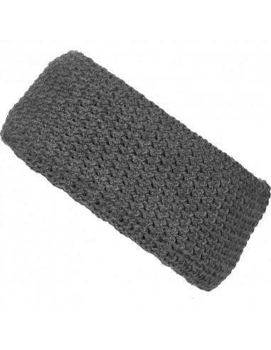 Fleece-lined fine crochet headband...