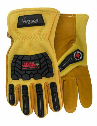 WATERPROOF LEATHER WINTER GLOVES MADE...
