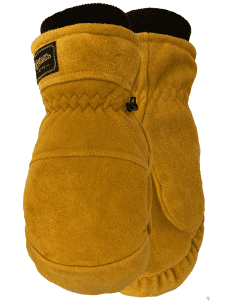 CANADIAN LEATHER MITTS...