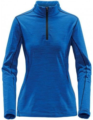 Thermal tee-shirt, zipped collar for...
