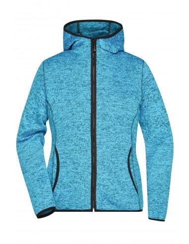 Ladies' Knitted Fleece Hoody James &...