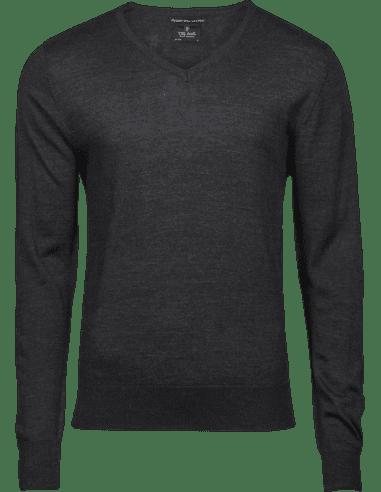 Men's Merino Wool Crew Neck Sweater...