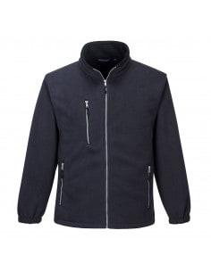 Premium two-tone fleece jacket