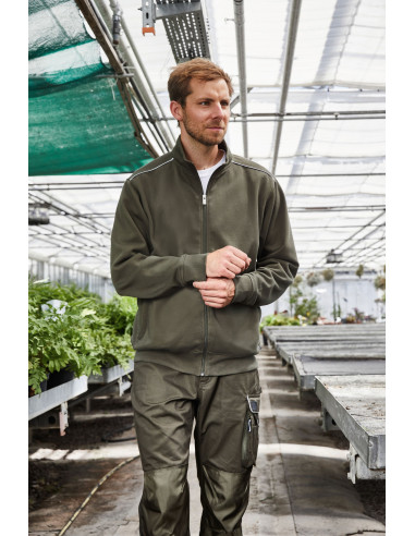 Men's Workwear Sweat-Jacket James &...