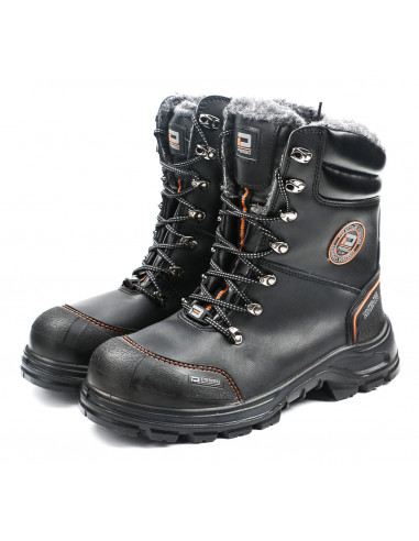 NATURAL LEATHER WINTER SAFETY SHOES...