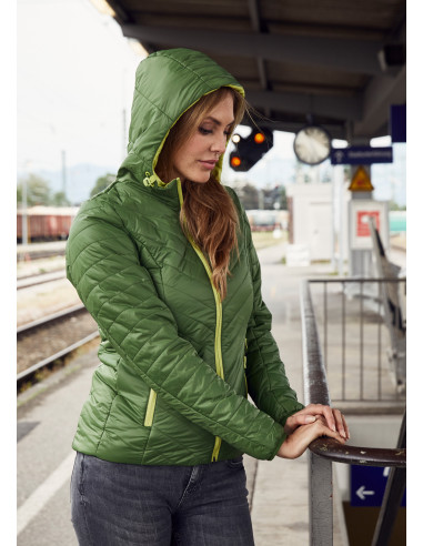 Reversible winter hiking jacket for...