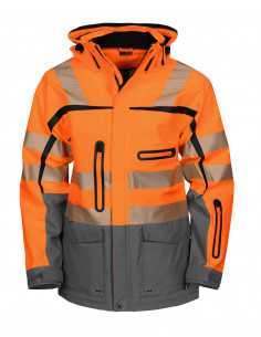 High visibility winter...