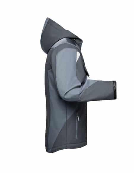 Veste thermique softshell à capuche James & Nicholson